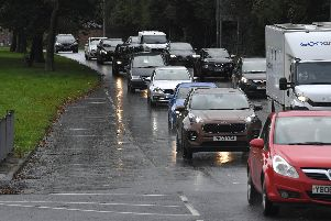 Congestion for Fulwood motorists heading to Garstang Road A6