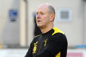 Andy Graves, Hucknall Town's manager.