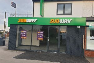 New Subway on Liverpool Road, Penwortham, in the former Royal Bank of Scotland  premises
