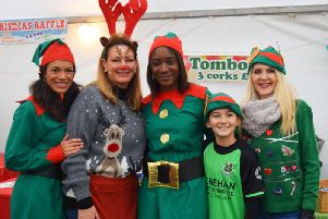 Christmas elves busy gearing up for St Catherines Hospice Christmas Festival this weekend