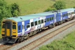There are cancellations to services between Preston and Lancaster this morning due to a broken down train blocking the line