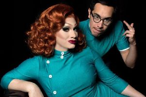 Jinkx Monsoon and Major Scales picture: JOSE A GUZMAN COLON