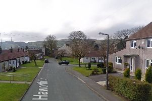 The incident happened in Haworth Drive at around 7pm on Thursday, November 7.(Credit: Google)