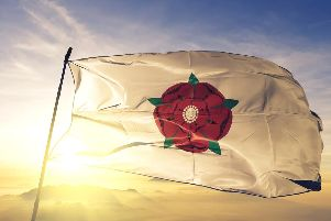 Lancashire's flag flying proud. (Picture: Shutterstock)
