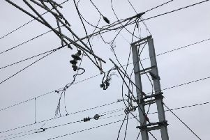 Engineers have completed emergency repairs to overhead lines between Preston and Lancaster