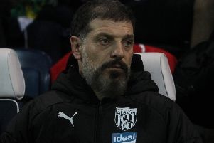Slaven Bilic looks on as his side snatch a late winner at Deepdale.