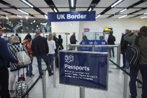 The survey found that 48 per cent of people in the Parliamentary constituency of Ashfield, which includes Eastwood, were against immigrants being allowed to be free to move to Britain and work. (PHOTO BY: Oli Scarff/Getty Images).