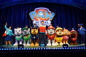 Everyone's favourite pups will take the stage for a high-energy musical adventure. (Picture: P&J Live Marketing)