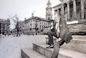Stan Thorne surveys his constituency