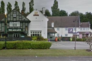 The Lea Gate pub and hotel