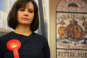 Defeated Don Valley MP Caroline Flint.