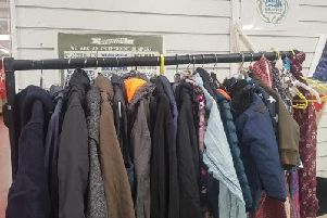 People will be able to donate and take coats for free. (Credit: Kitty Frances)