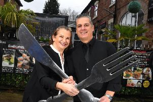 Mediterranean restaurant Cosmopolitan has been recognised has been recognised with a Good Food Award for 2020. The restaurant, which is now 10 years old, is run by husband-and-wife duo of 26 years, Vanda and Recep (known as Reggie) Tankut (Image: JPIMedia)