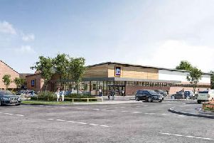 How the new Aldi store will look
