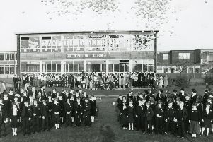 Harry Eccles launched a campaign to save Ashton High School from demolition after  there were problems with the building