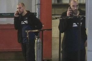 Police want to speak to this man after a homeless man was attacked in a sleeping bag in Astley Gate, Blackburn on Sunday, January 5. Pic: Lancashire Police