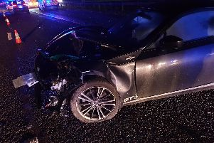 Lancashire Road Police have confirmed that a drunk driver caused the delays on the M6 this evening (January 8). (Credit: Lancashire Road Police)