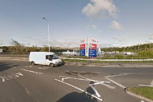 A 13-year-old boy fell from a bridge over the A56, near the Tesco superstore in Haslingden, at around 1pm yesterday (January 9). the Pic: Google