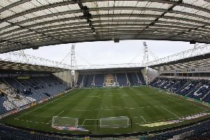 A view of Deepdale from the top of the Alan Kelly Town End.