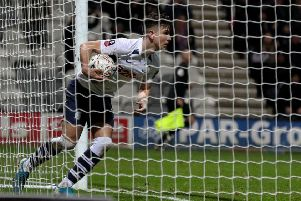Josh Harrop scored a beauty at Blackburn to follow up his FA Cup goal against Norwich (above)