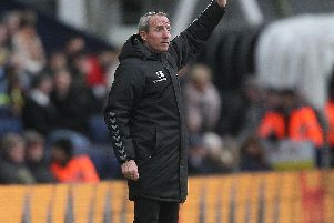 Lee Bowyer at Deepdale, as his side lost our 2-1.