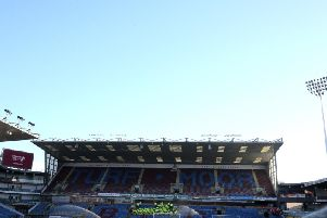 Turf Moor ahead of the Leicester game