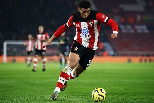 Che Adams of Southampton. (Photo by Bryn Lennon/Getty Images)