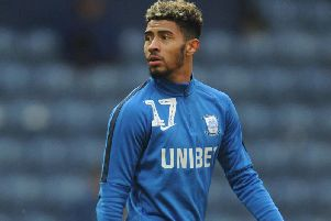 Preston winger Josh Ginnelly is on loan at Bristol Rovers