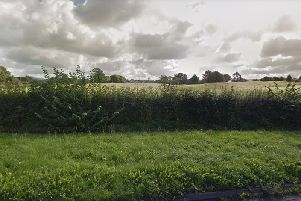 The land off the A6 near Junction 33 of the M6.