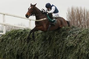 Dual Becher Chase winner Walk In The Mill, the mount of James Best, is one of 105 entries for this year's Randox Health Grand National.