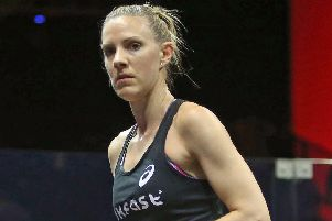 Laura Massaro during last week's El Gouna International (photo: PSA)