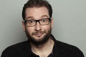 Gary Delaney is headlining at the Hyena Comedy Club at Harrogate Theatre on Saturday, May 5.
