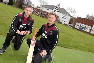 Luke Townsend, left, and James Ward starred in Doncaster's win over Woodhouse Grange.