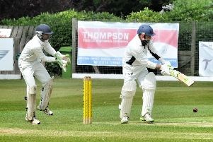 Action from Preston's defeat by Fulwood and Broughton in May