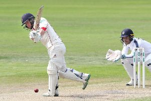 Alex Davies was the only Lancashire player to reach 20