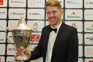 Tom Bailey was named the Lancashire Player of the Year