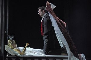 The new touring production of Dracula is coming to Bradford Alhambra. PICTURE: Nobby Clark