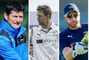 Martyn Moxon, Steve Patterson and Andrew Gale