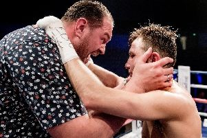 Isaac Lowe has been by Tyson Fury's side as he has transformed himself ahead of the Deontay Wilder