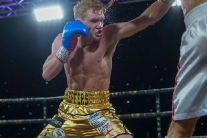 Mark Jeffers is back in action in Bolton on Saturday night. Picture: Chris Roberts for MTK Global