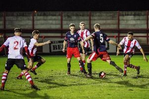 Brig grab a late equaliser (photo: Ruth Hornby)