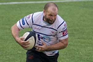 James Gough in action for Preston Grasshoppers