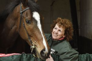 One For Arthur pictured with Lucinda Russell