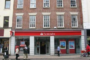 The Santander branch in Preston's Fishergate is not on the list