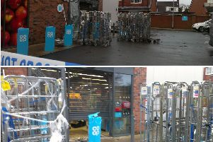 The Co-Op store in Watkins Lane, Lostock Hall was raided around 3am on Friday, January 25.