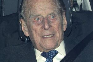 The Duke of Edinburgh, who was involved in a road accident recently