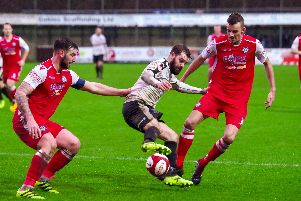 Alistair Waddecar rescued a point for Bamber Bridge against Hednesford Town