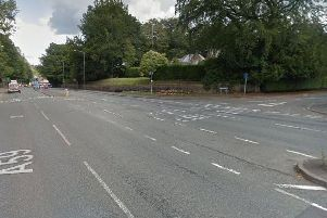 The accident happened at the junction of Hill Road and Liverpool Road in Penwortham at 8.40am on Monday, February 4.
