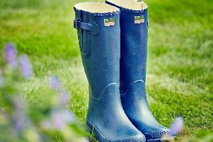 The golden rule of journalism (wellies in the boot)