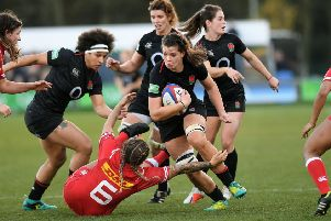 On way back: 'England's Abbie Scott is recalled to face France.